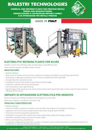 Balestri Technologies - Brochures